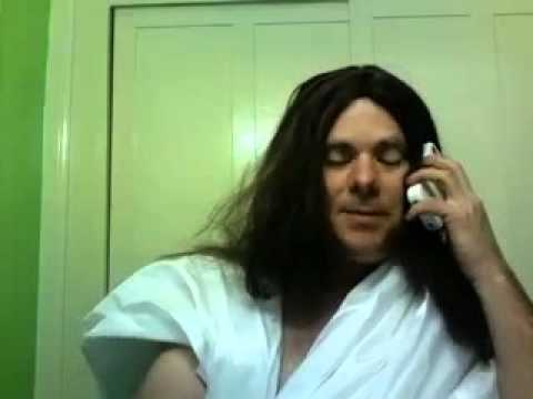 Jesus On The Phone - Changing His Voicemail